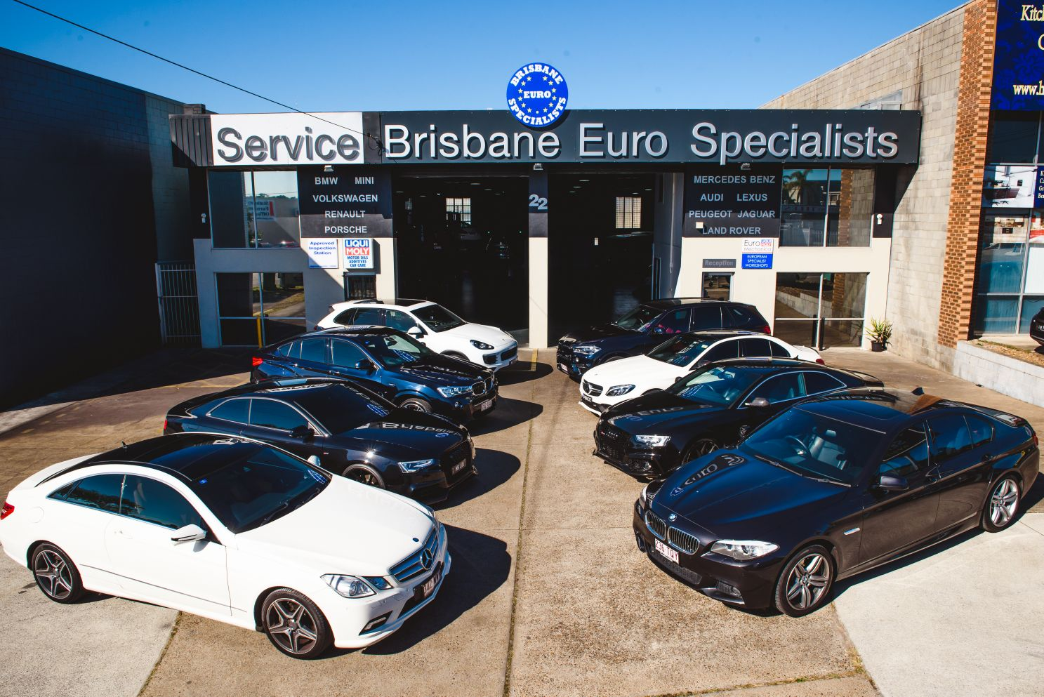 Brisbane Euro Specialists - Liqui-Moly EuroMechanica workshop